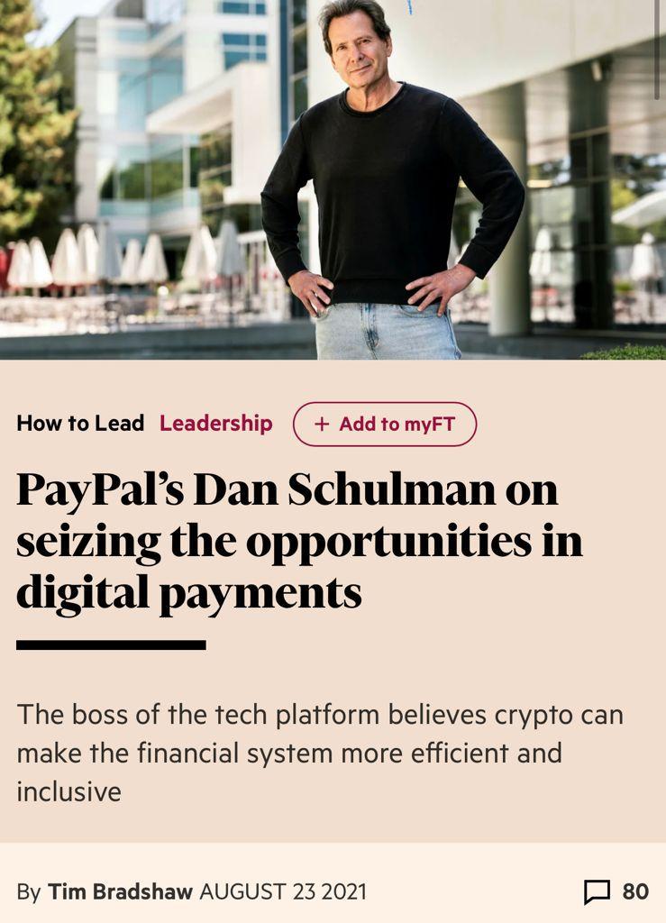 financial times dan schulman